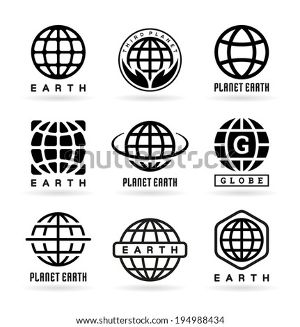 Set of Earth Icons (5)