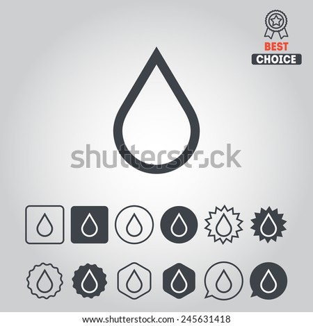Set of ecology icons for logotypes, web design, applications, games and stickers - stock vector