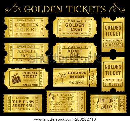 Tickets Images RoyaltyFree Images Vectors – Vip Ticket Template