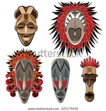 African Mask Stock Images, Royalty-Free Images & Vectors ...