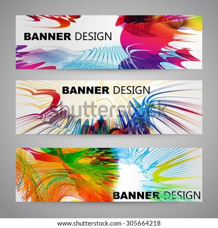Set of Flyer, Brochure Design Templates. - stock vector