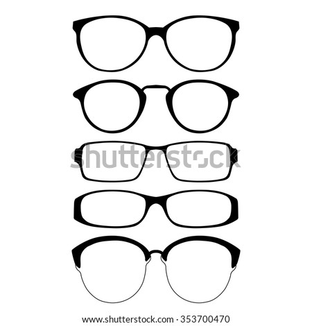 glasses frames stock images royalty free images vectors