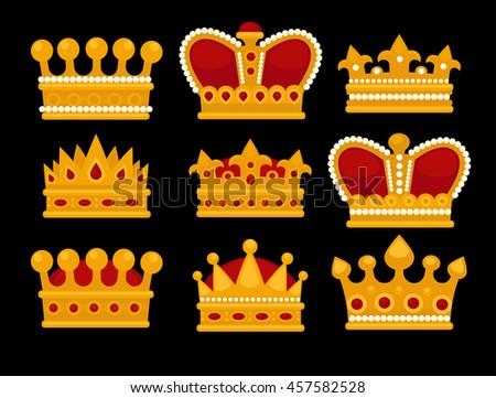 King Crown Wallpaper Top King Crown Logo Black Background Wallpapers