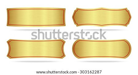 metal name plate stock images royalty free images vectors shutterstock. Black Bedroom Furniture Sets. Home Design Ideas