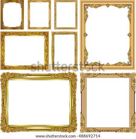 photo frames with corner thailand line floral for picture wood frame
