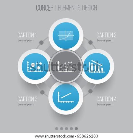 Circles Arrows Strokes Infographic Template    Diagram    Stock Vector 510895564  Shutterstock