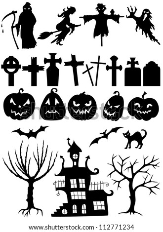 Halloween Silhouette Stock Photos, Royalty-Free Images & Vectors ...