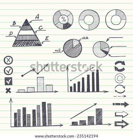 "TashaNatasha's ""arrows and other symbols"" set on Shutterstock"