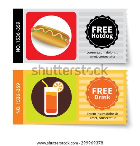 Mealvoucher Images RoyaltyFree Images Vectors – Free Lunch Coupon Template