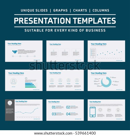 Set of Infographic Presentation Template