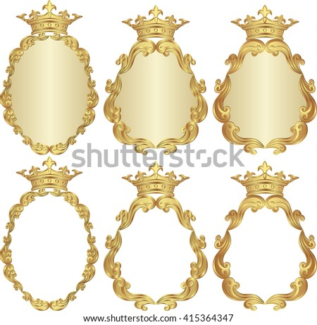 set of isolated royal frames