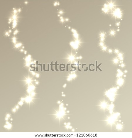 set of lights - stock vector