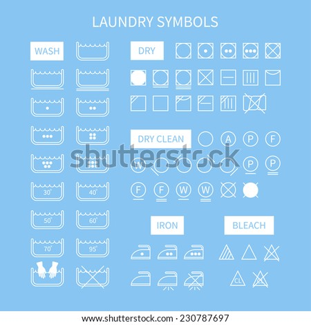 washing instruction symbols 30