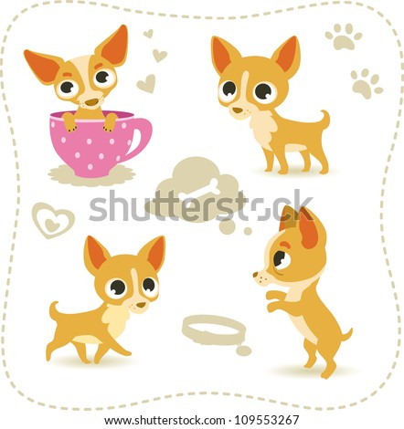Chihuahua Puppy Stock Vectors, Images & Vector Art | Shutterstock