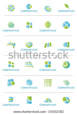 Set of Logo and Design Elements. Vector. For more illustrations VISIT MY GALLERY.