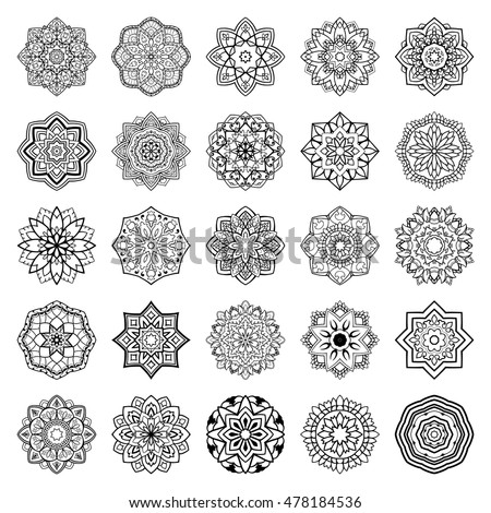 Basic Mandala Tattoo Template Www Picsbud Com