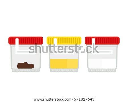Urine test stool test semen analysis. Flat design  sc 1 st  Shutterstock & Set Medical Testsurine Test Stool Test Stock Vector 571827643 ... islam-shia.org