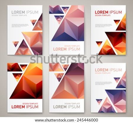Mauro fabbro 39 s portfolio on shutterstock for Modern brochure design templates