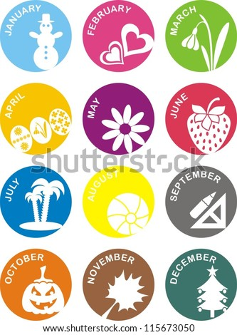 Months Stock Photos Images Amp Pictures Shutterstock