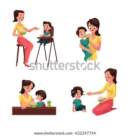 Quot Chair For Feeding Quot Stock Images Royalty Free Images