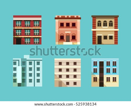 Brick Buildings Stock Images Royalty Free Images Vectors