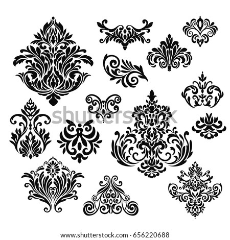 Damask Stock Images, Royalty-Free Images & Vectors ...