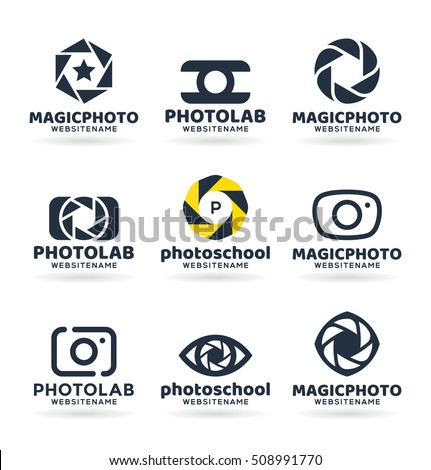 photography logo stock images royaltyfree images