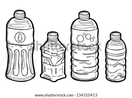Water Bottle Sketch Stock Images, Royalty-Free Images & Vectors ...