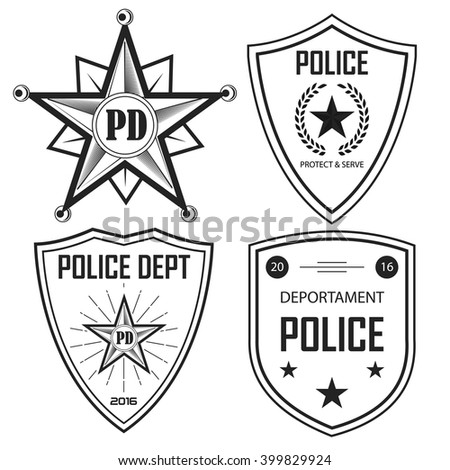 Police Symbol Stock Photos, Images, & Pictures | Shutterstock