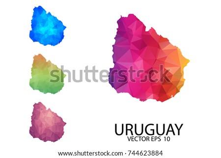 Uruguayblankmap Stock Images RoyaltyFree Images Vectors - Uruguay blank map