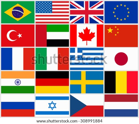 Country Flags Vector Stock Images Royalty Free Images