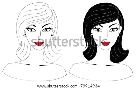 Woman Neck Stock Vectors, Images & Vector Art Shutterstock