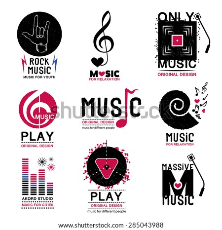 Music Logo Stock Images, Royalty-Free Images & Vectors | Shutterstock