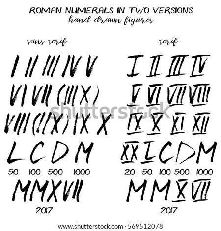 Roman Numerals Stock Images Royalty Free Images Amp Vectors