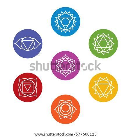 Chakra Symbols Stock Images Royalty Free Images Amp Vectors