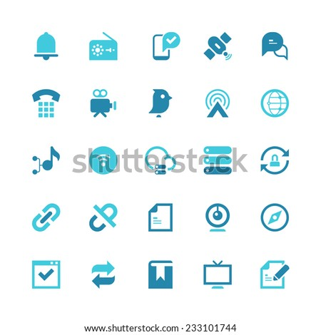Set of 25 shopping vector icons.  They can be perfectly applied in graphic design and web or mobile devices.