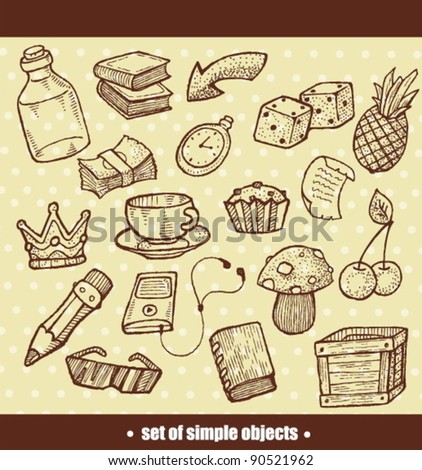 set of simple objects