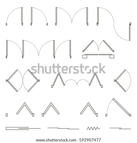 Floor Plan Icons Stock Images Royalty Free Images Vectors Shutterstock