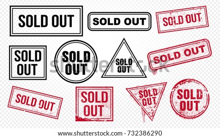 Image result for sold out signs for sale
