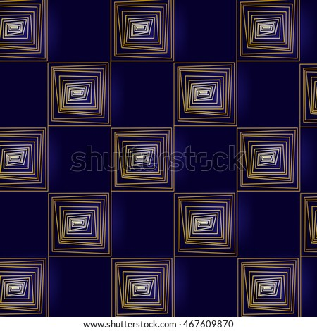 set of square illustration abstract