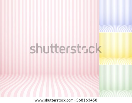 Set of studio backdrops