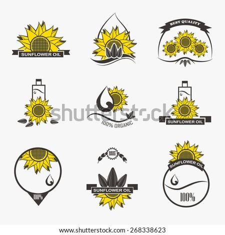Sunflower oil logo