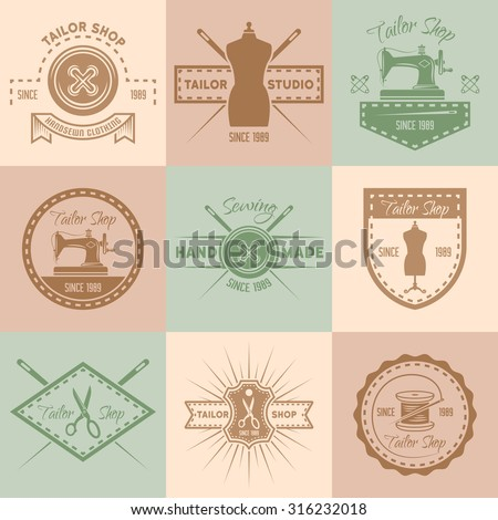 textile logo stock images royalty free images vectors shutterstock. Black Bedroom Furniture Sets. Home Design Ideas