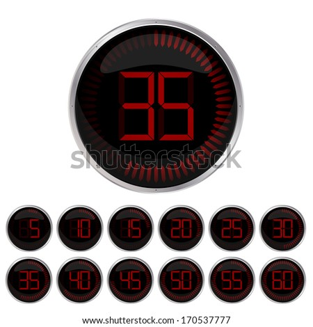 Set of timers