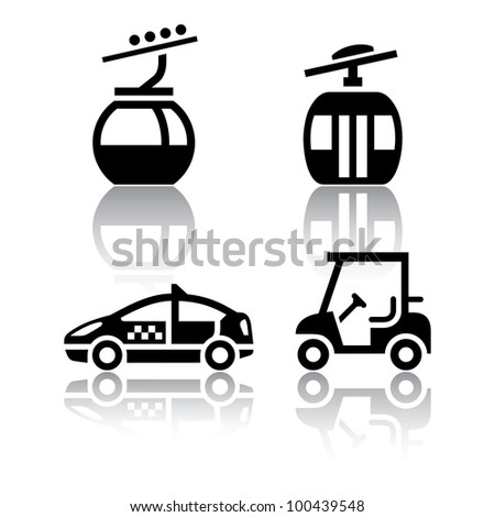 Car Icon Set Set of Transport Icons Sport