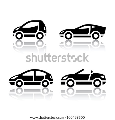 Car Icon Set Set of Transport Icons
