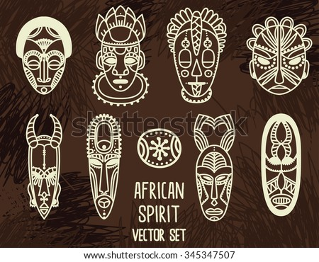 african mask stock images  royalty free images   vectors American Indian Warriors Clip Art Indian Warrior Football Clip Art