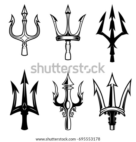 poseidon trident stock images royalty free images vectors shutterstock. Black Bedroom Furniture Sets. Home Design Ideas
