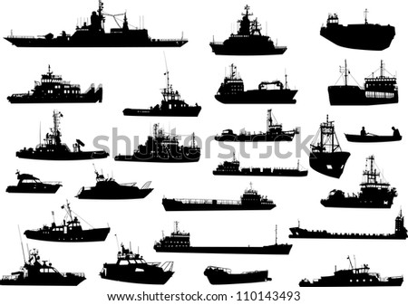 Fishing Boat Silhouette Stock Images, Royalty-Free Images ...