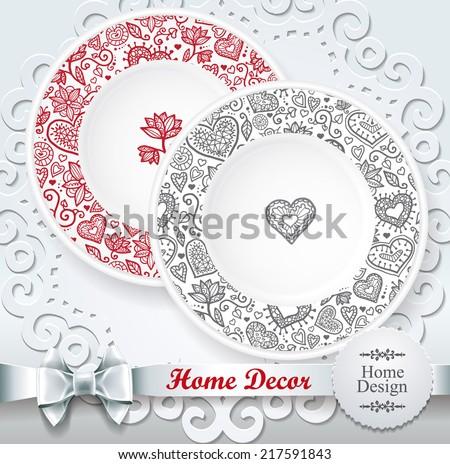 For interior design home decor vector illustration for your design